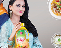 Thaffaz cooking oil and banaspati Print campaign