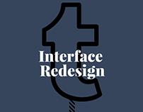 TUMBLR - Interface Redesign