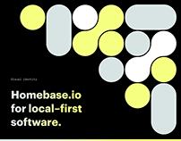 Visual identity homebase.io