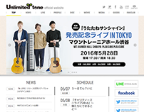 Unlimited tone WEBSITE