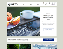 Quarto News or Blog Website Concept