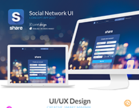 Share - Social Network UI