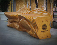 Parametric bench Flacon