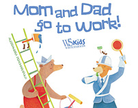 Mom and dad go to work PUBLISHED BOOK