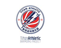 Titan Athletic Branding Concept // Basketball Project