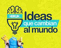 Ideas que cambian al mundo Herklin