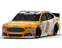2015 #9 Shaw's Supermarkets Ford Fusion