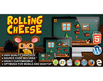 HTML5 Game: Rolling Cheese