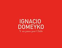 Gráfica video biográfico Ignacio Domeyko