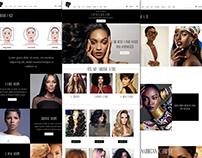 New Website design for WORLD OF BEAUTY