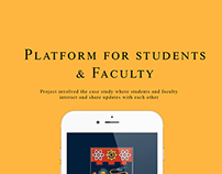 App for students to interact with faculty