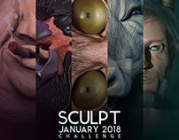 My SculptJanuary 2018 COLLECTION