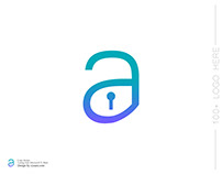 Uniqe Font Quality Letter Logo Design - Cyoam