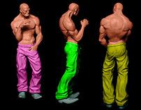 Coloring 3D Models
