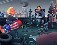 Covfefe Playground feat. Trump, Kim, and Vlad