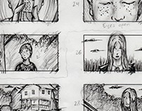 """Less Of You"" Storyboards (short film)"