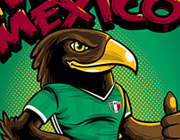 Let's Go Mexico! - Graphic Illustration