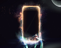 iPhone Ad Concept