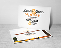 Wedding Invitations: The Duncans (2017)