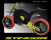 STINGER_Hubless Motorcycle