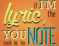 Sure Thing - Typography