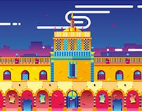 MÉXICO, arquitectura y monumentos III