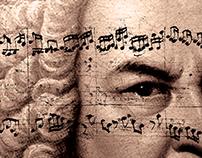 Affiche/Poster - Bach - Musique Creation VI