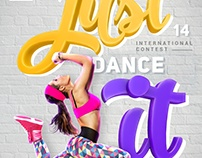 Just dance it | Advertising posters