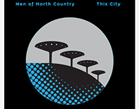 Men of North Country - This City LP merchandise
