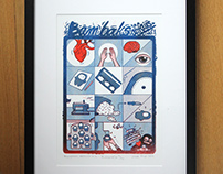 Bambaks Affairs no.1 Riso print