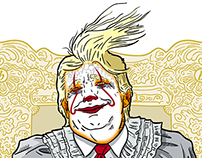 Clown of the United States (Golden Frame Edition)