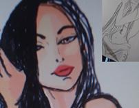 Estudo ilustração