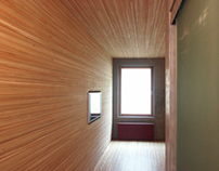 Interior of the apartment. 2005.