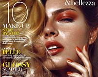 Publicaçao COVER+Editorial -Trucco & Bellezza Mag Print