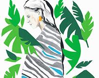 P A P E R C U T / People Beauty Illustration