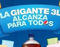 Pepsi 3L - Afiche