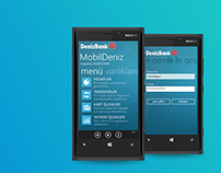 DenizBank MobilDeniz | Windows Phone 8 App