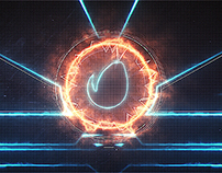 Abstract Circular Opener
