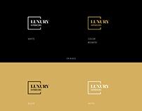 Luxury Interiors Logo Design