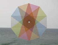 """Optical sculpture """"Transflower"""""""