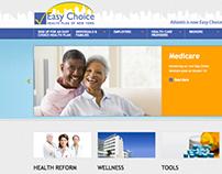 Website for Easy Choice Health Plan of NY