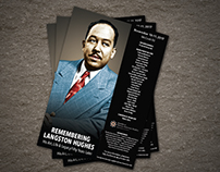 Remembering Langston Hughes Event