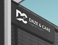 Daze and Care Cleaning Products Company Logo - Branding