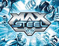Max Steel Branding & Packaging