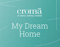 Croma - My Dream Home, A UX based Game design Project.