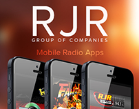 RJR Mobile Radio Apps v1 - iPhone, Android & Blackberry