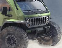 Jeep ultimate Mopar SEMA concept