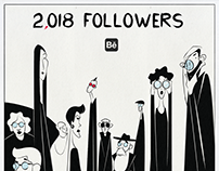 TO ALL MY 2,018 FOLLOWERS AT BEHANCE. Thank you!