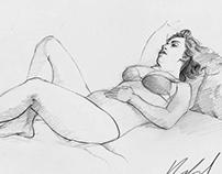 Patricia y Sandra (Sketches)