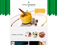 Web | Rodrigo Casagrande Catering | Camorra DG
